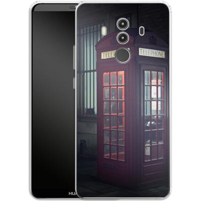Huawei Mate 10 Pro Silikon Handyhuelle - London Calling 2 von Ronya Galka