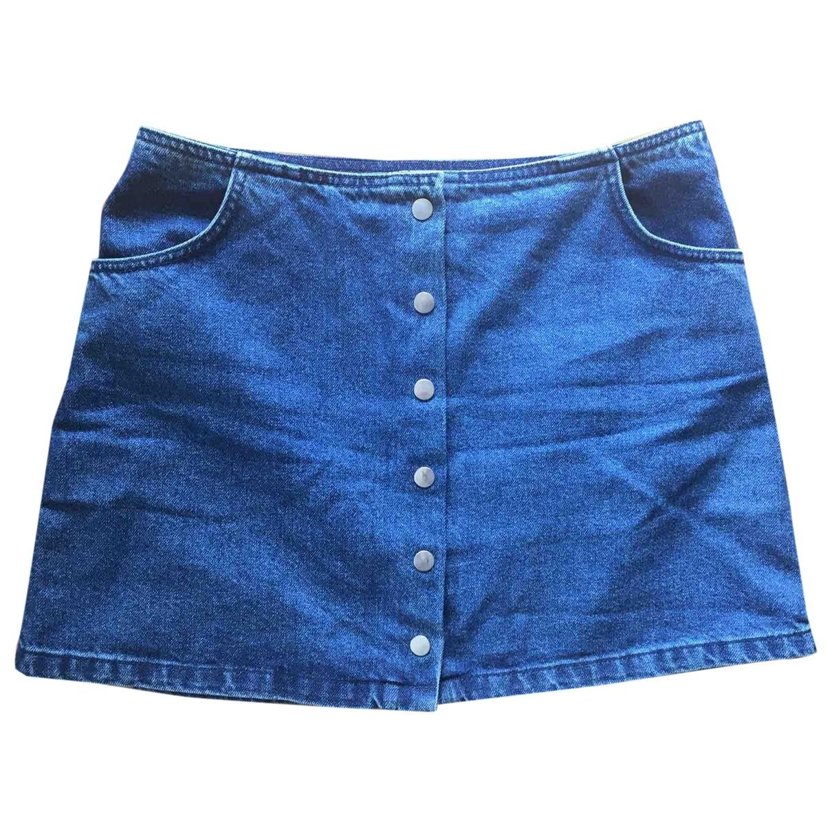 Tophop \N Rocke in  Blau Denim - Jeans