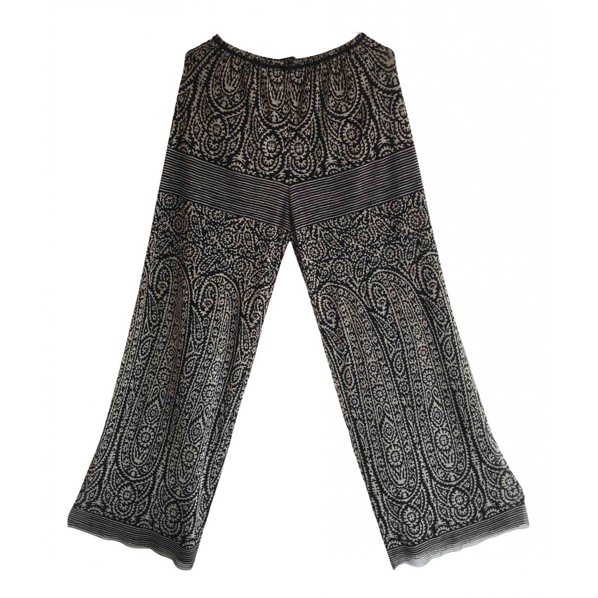 Jean Paul Gaultier N Black Trousers for Women L International