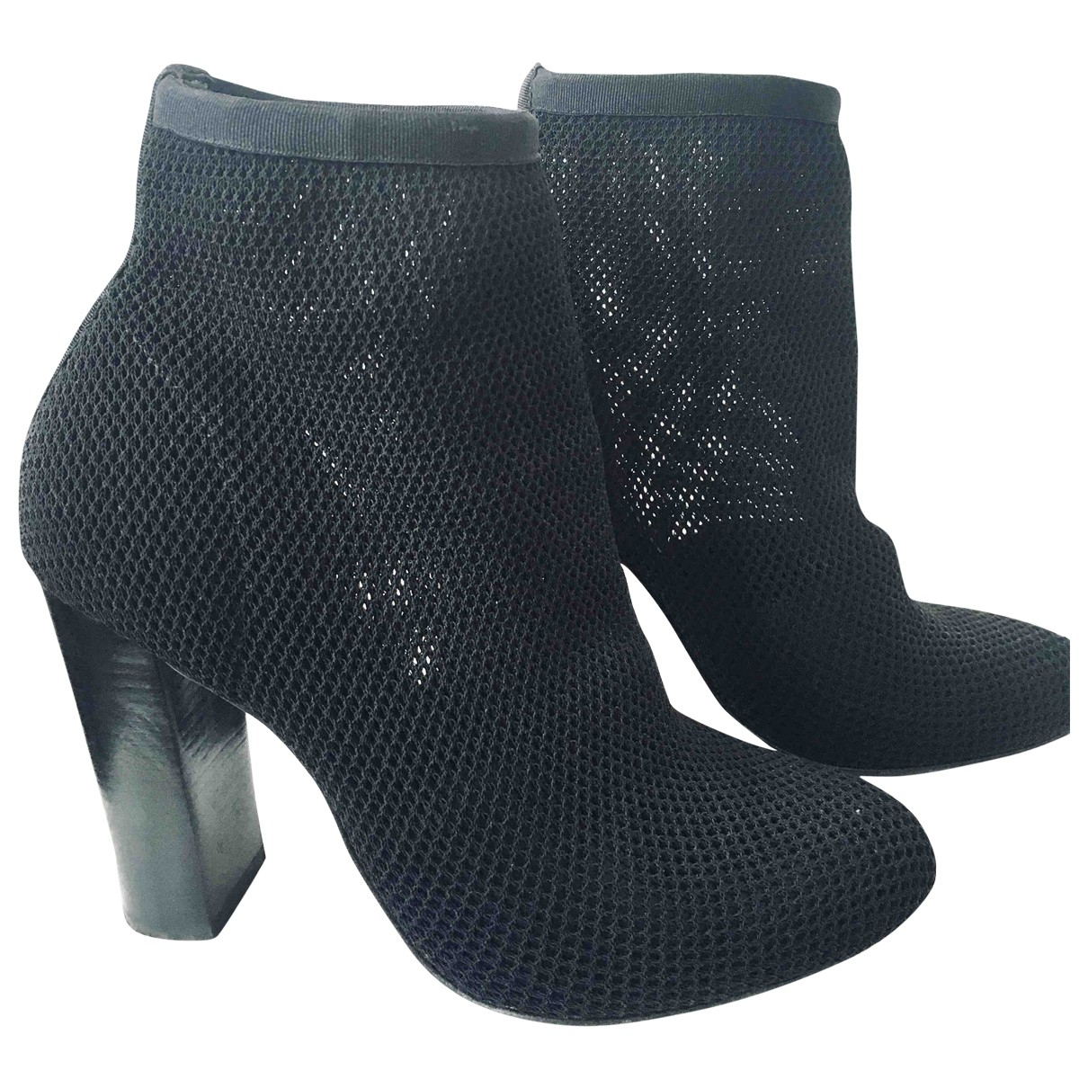 Alexander Wang - Boots   pour femme en toile - noir