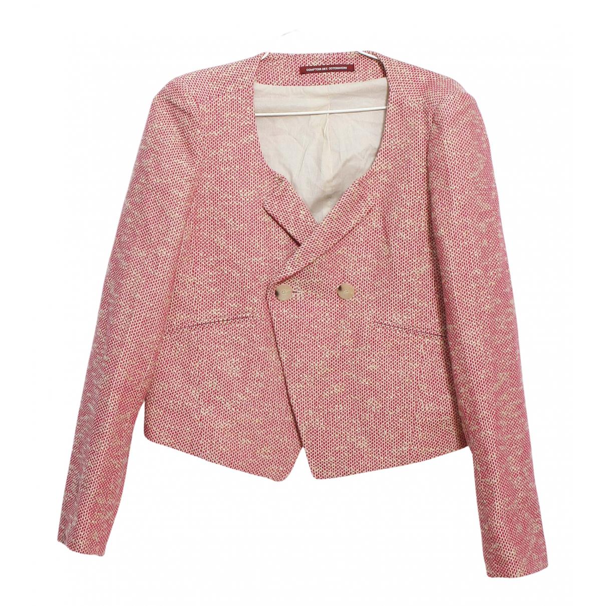 Comptoir Des Cotonniers N Pink Cotton jacket for Women 40 FR