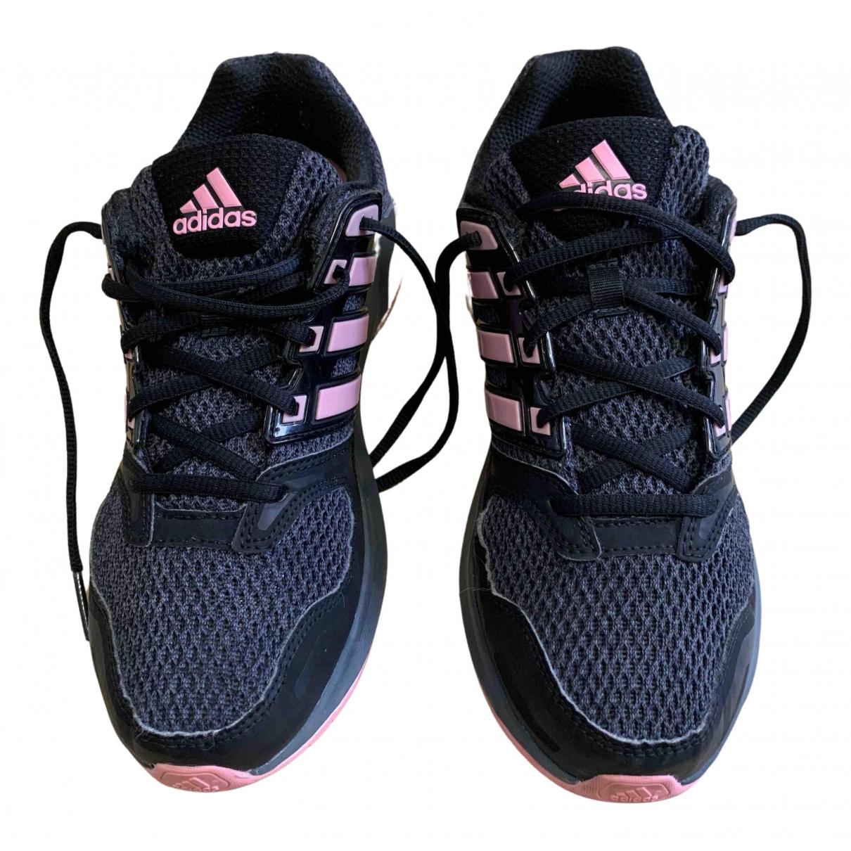 Adidas - Baskets PureBOOST pour femme en toile - noir
