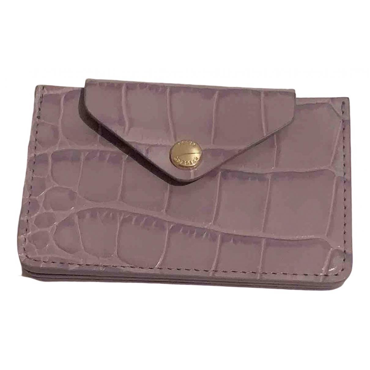 & Stories \N Purple Leather wallet for Women \N
