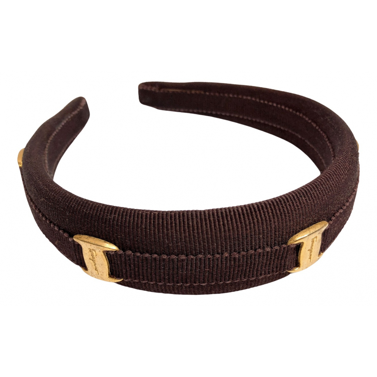 Salvatore Ferragamo N Gold Hair accessories for Women N