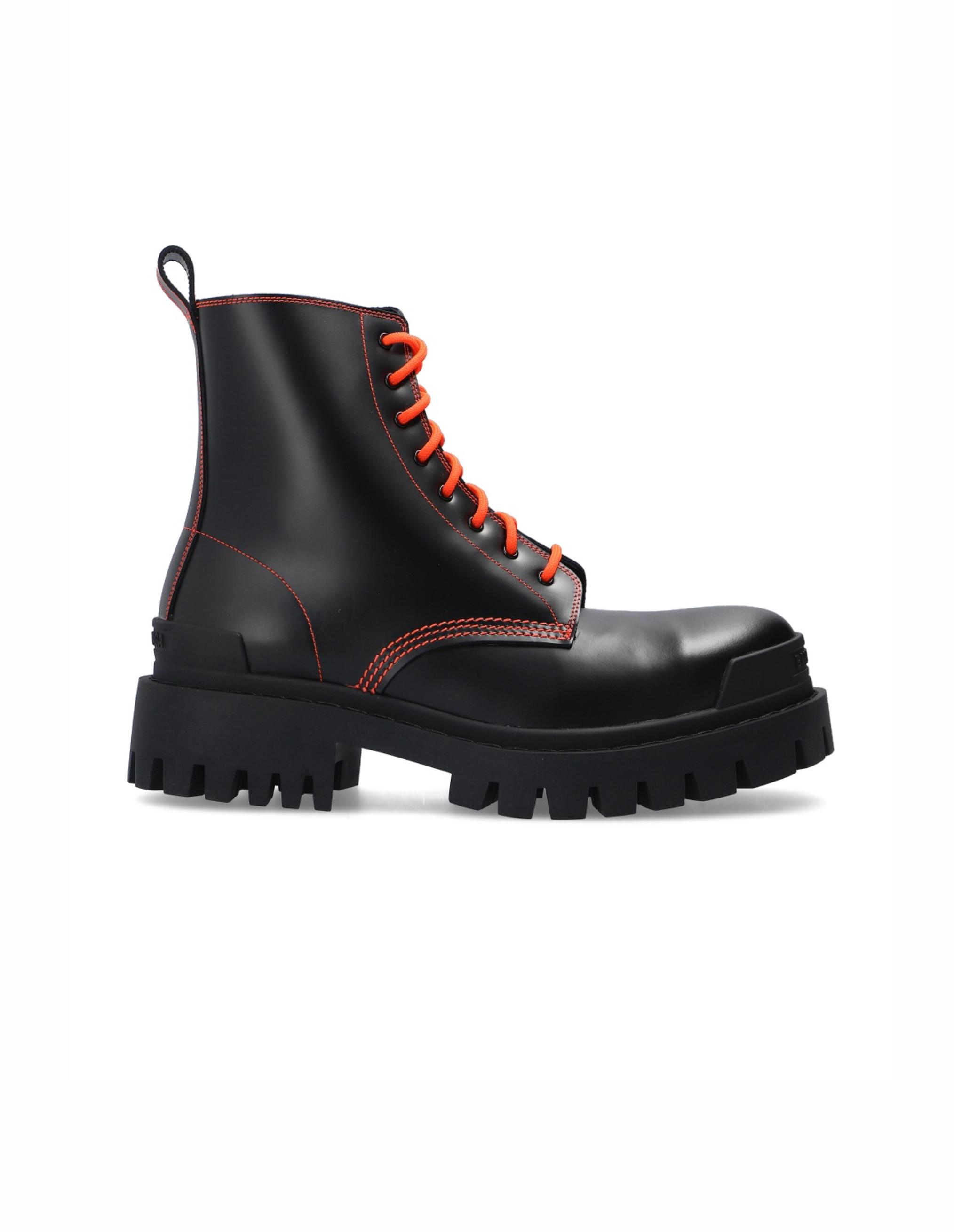 Balenciaga Strike Platform Leather Boots