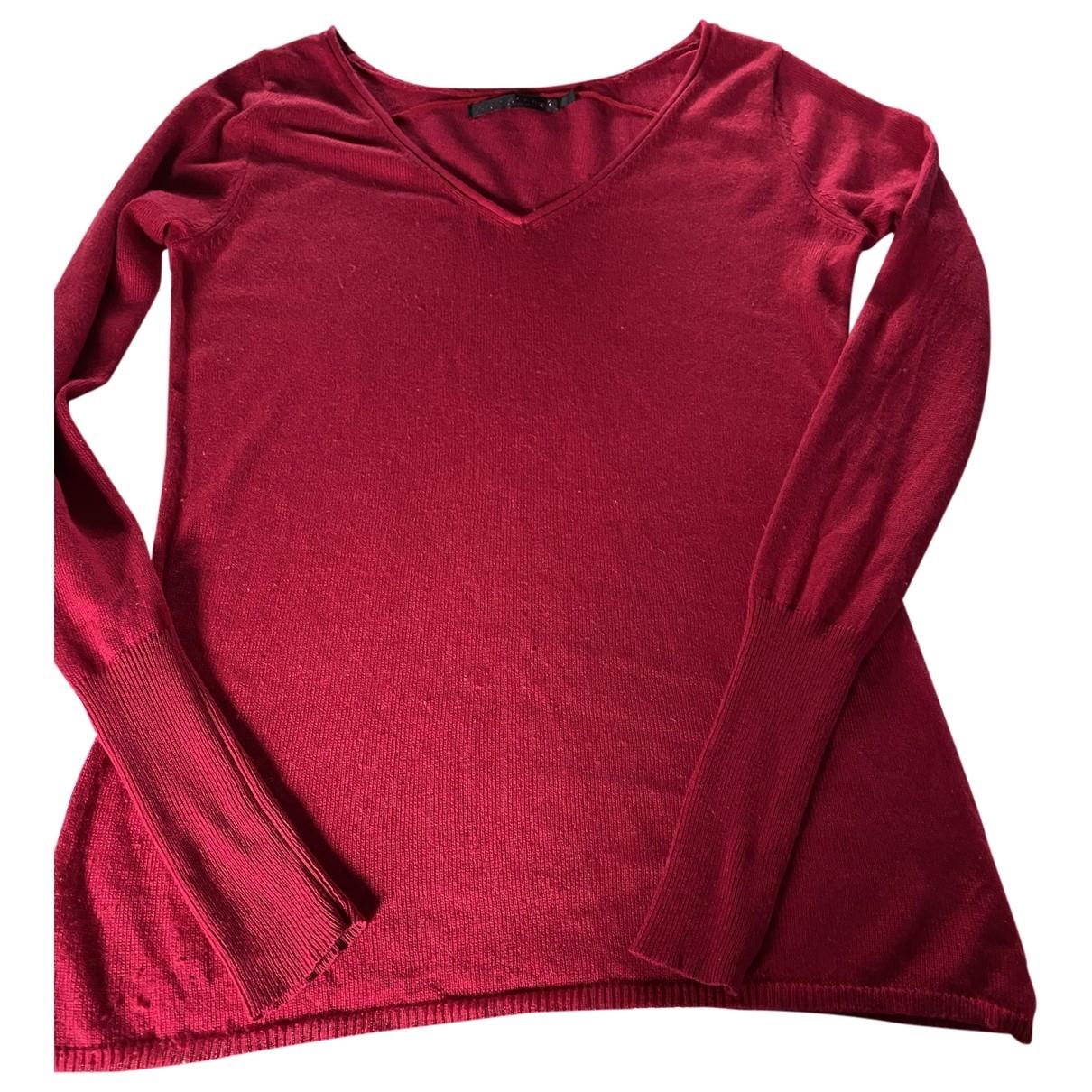 Berenice - Pull   pour femme en soie - rose