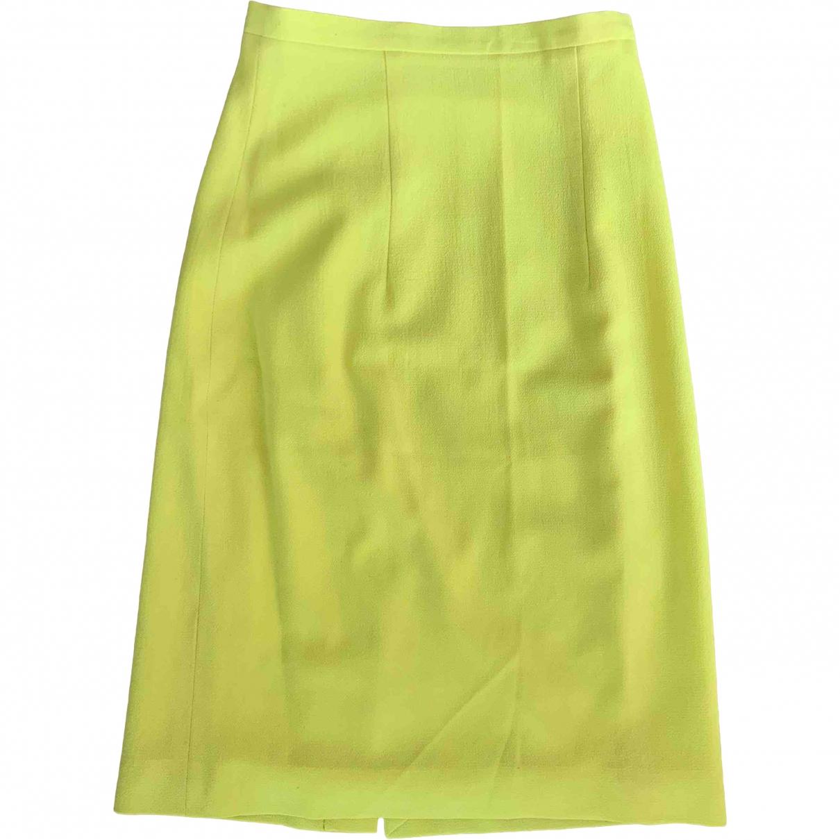 Christopher Kane \N Rocke in  Gelb Wolle