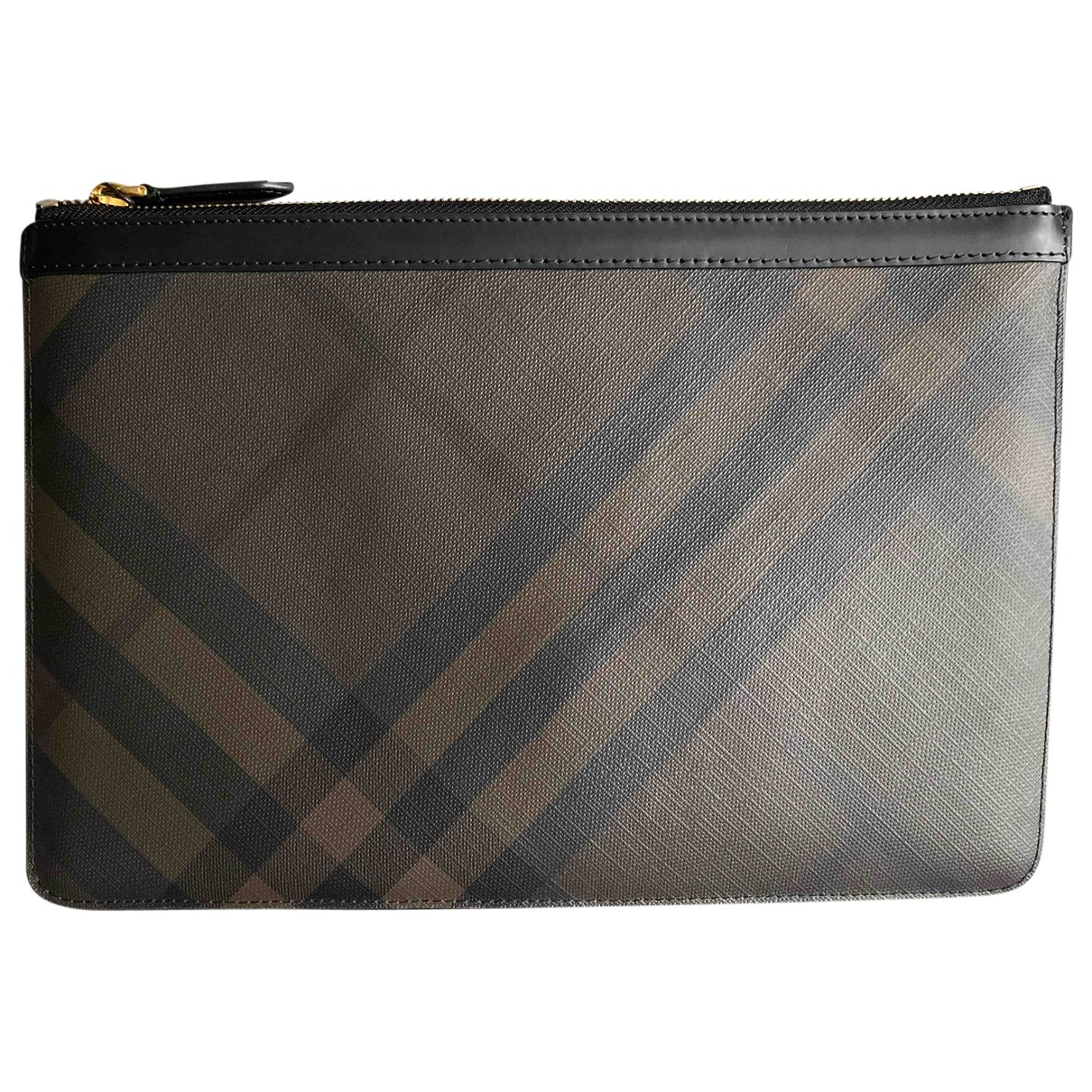 Burberry \N Black Small bag, wallet & cases for Men \N