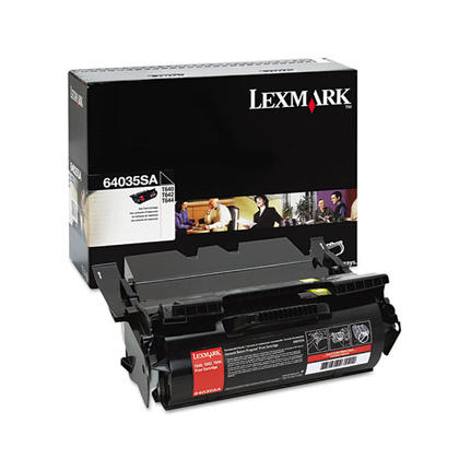 Lexmark 64035SA Original Black Toner Cartridge