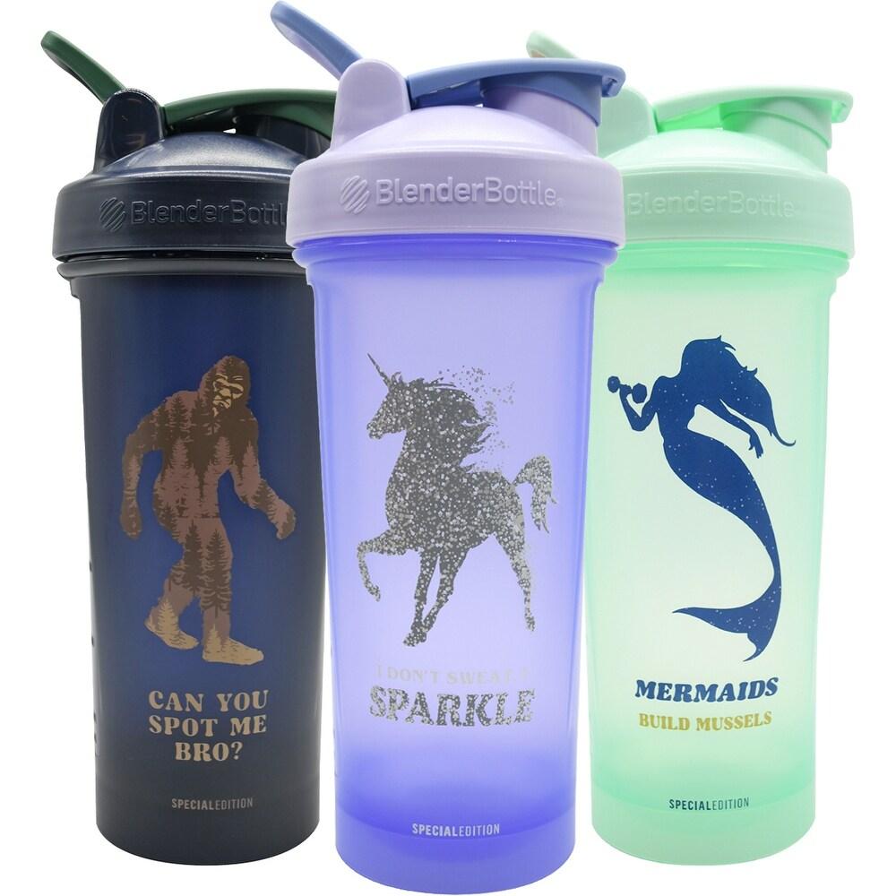 Blender Bottle Magical Creatures Classic 28 oz. Shaker Cup w/ Loop Top (Bigfoot)