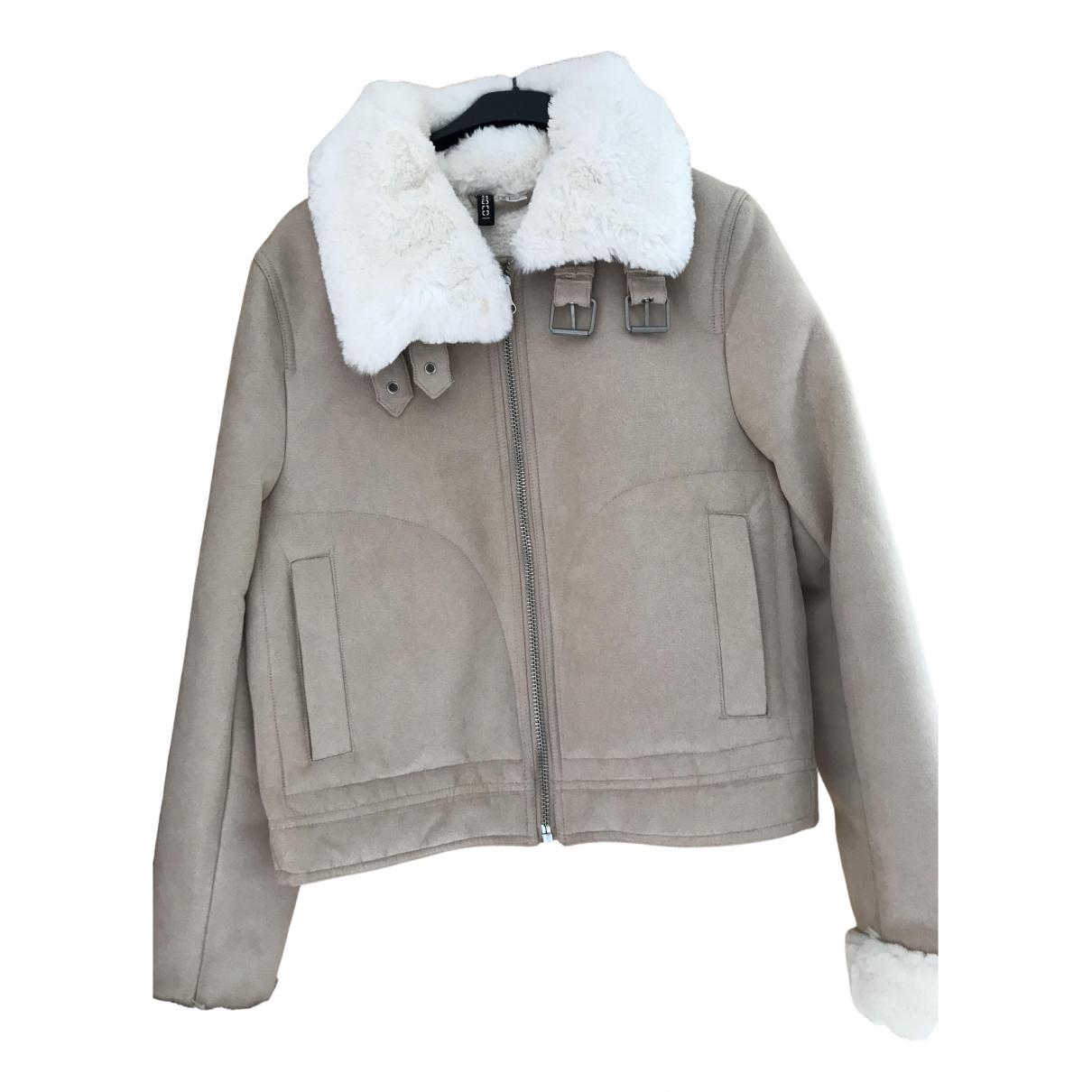 H&m Studio \N Beige coat for Women 36 FR