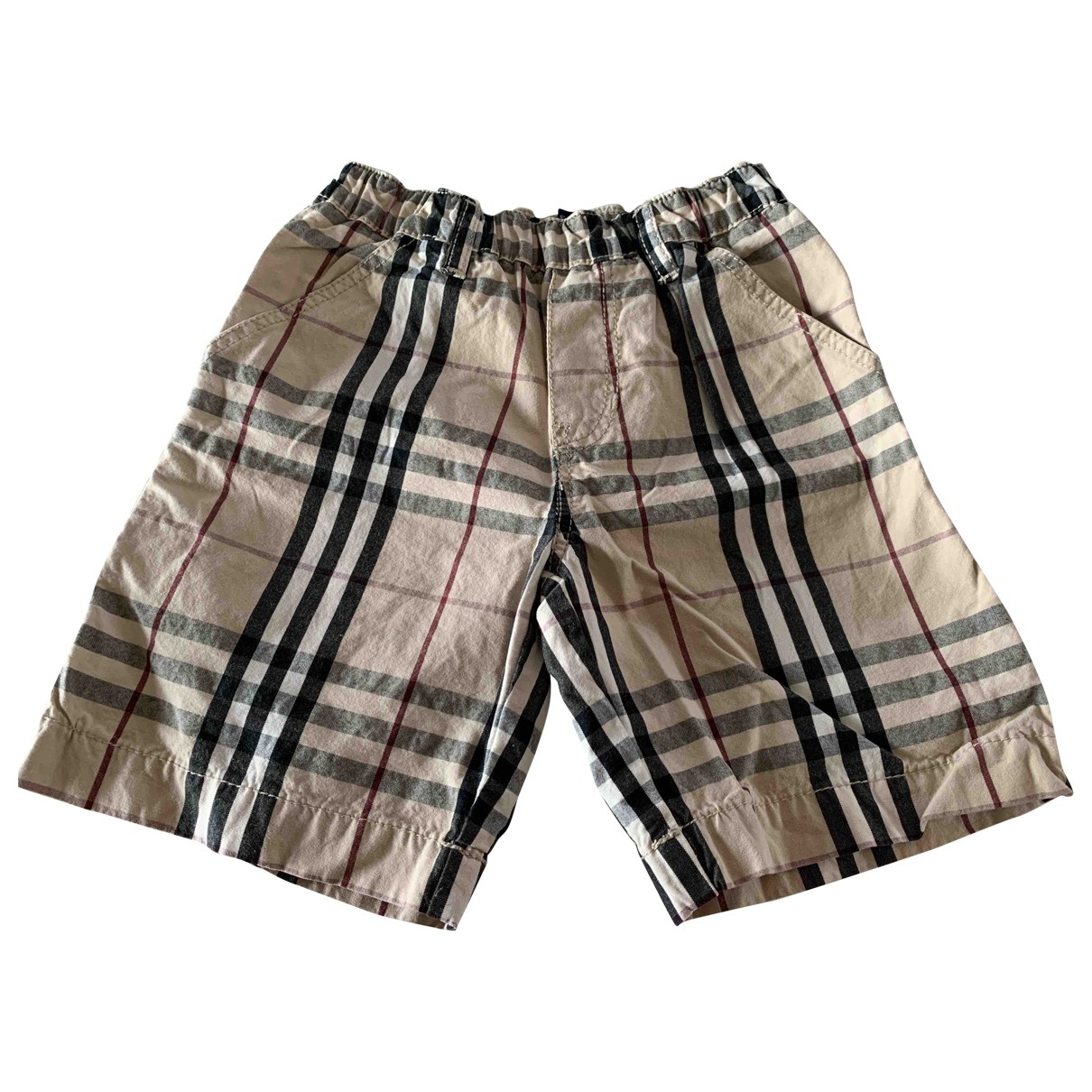Burberry \N Brown Cotton Shorts for Kids 3 years - until 39 inches UK