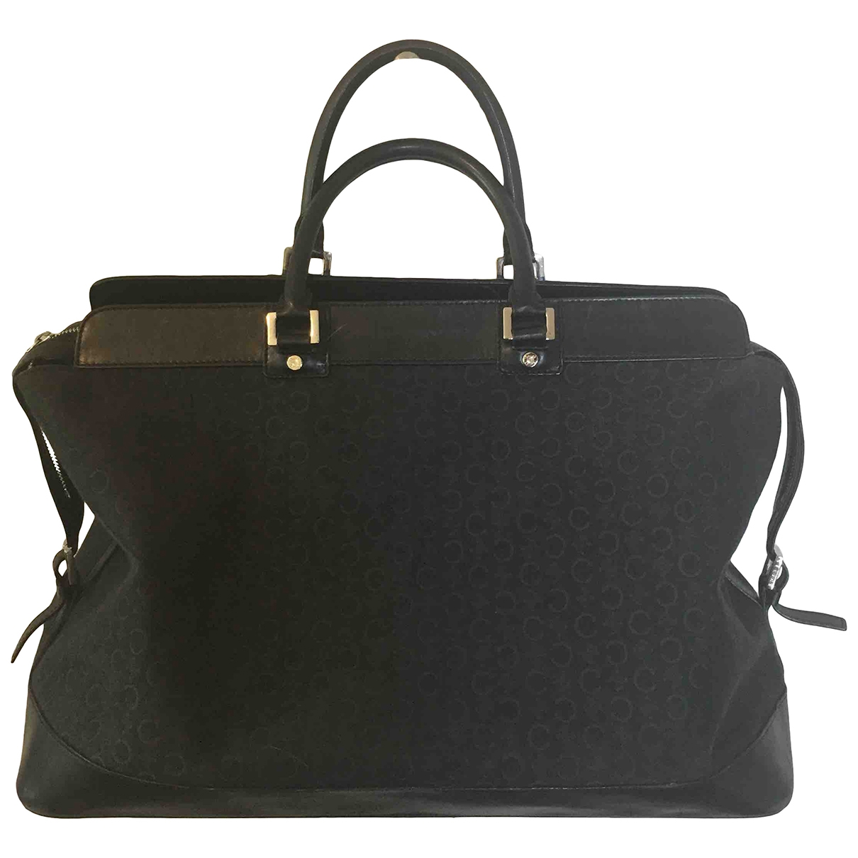 Celine \N Black Cloth Travel bag for Women \N