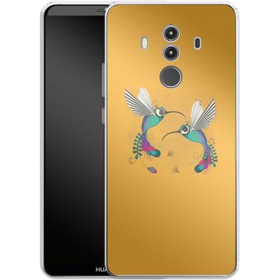 Huawei Mate 10 Pro Silikon Handyhuelle - Hummingbirds von Victoria Topping