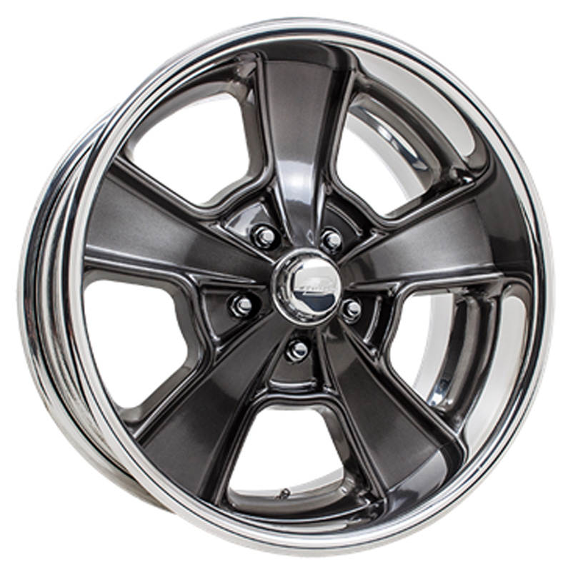 Billet Specialties VDS71S912Custom Knuckle Dish Smoke Clear Coat 19x12 Wheel
