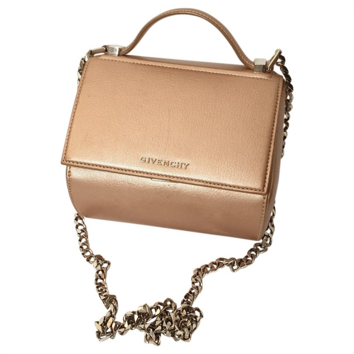 Givenchy Pandora Box Metallic Leather handbag for Women \N