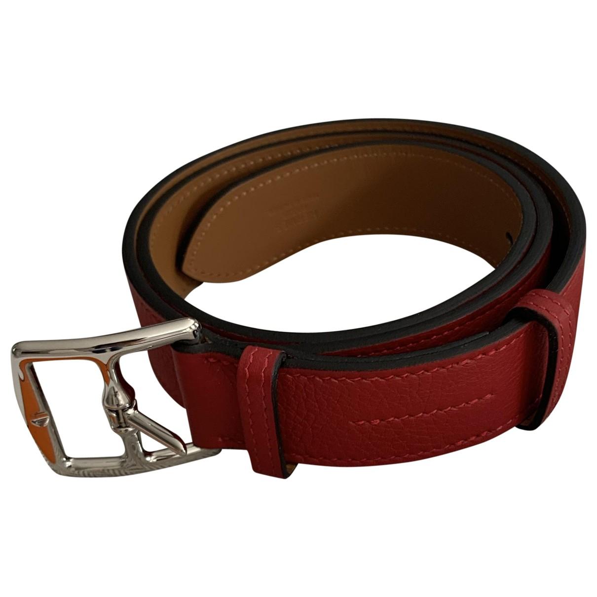 Cinturon Etriviere de Cuero Hermes