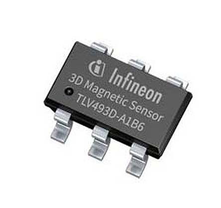 Infineon TLV493D Series Current Sensor, 3.7 mA nominal current (10)