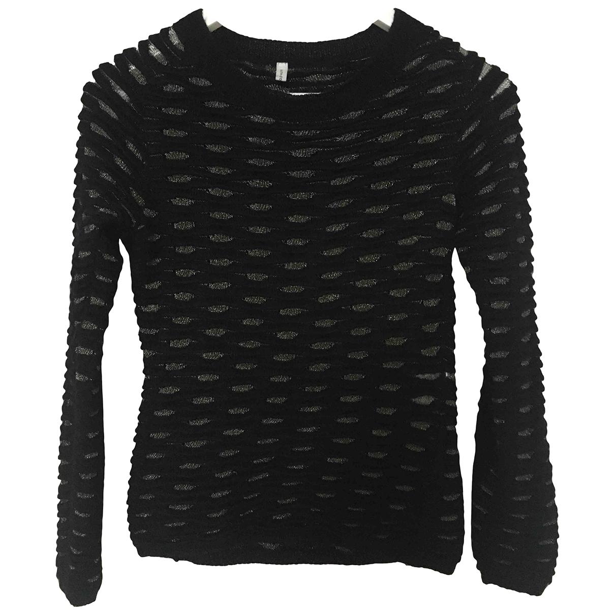 Faith Connexion - Pull   pour femme en laine - noir