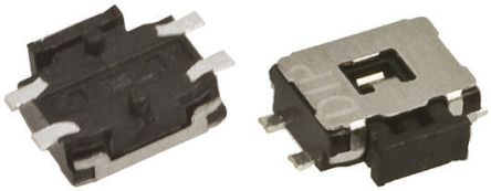APEM Tactile Switch, Single Pole Single Throw (SPST) 50 mA @ 12 V dc (5)