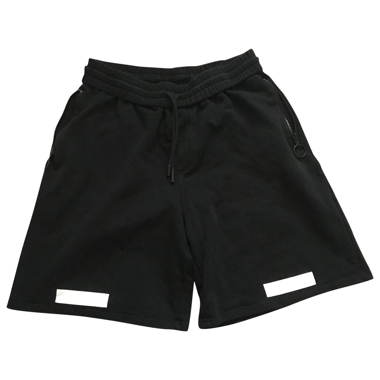 Off-white \N Black Cotton Shorts for Men L International