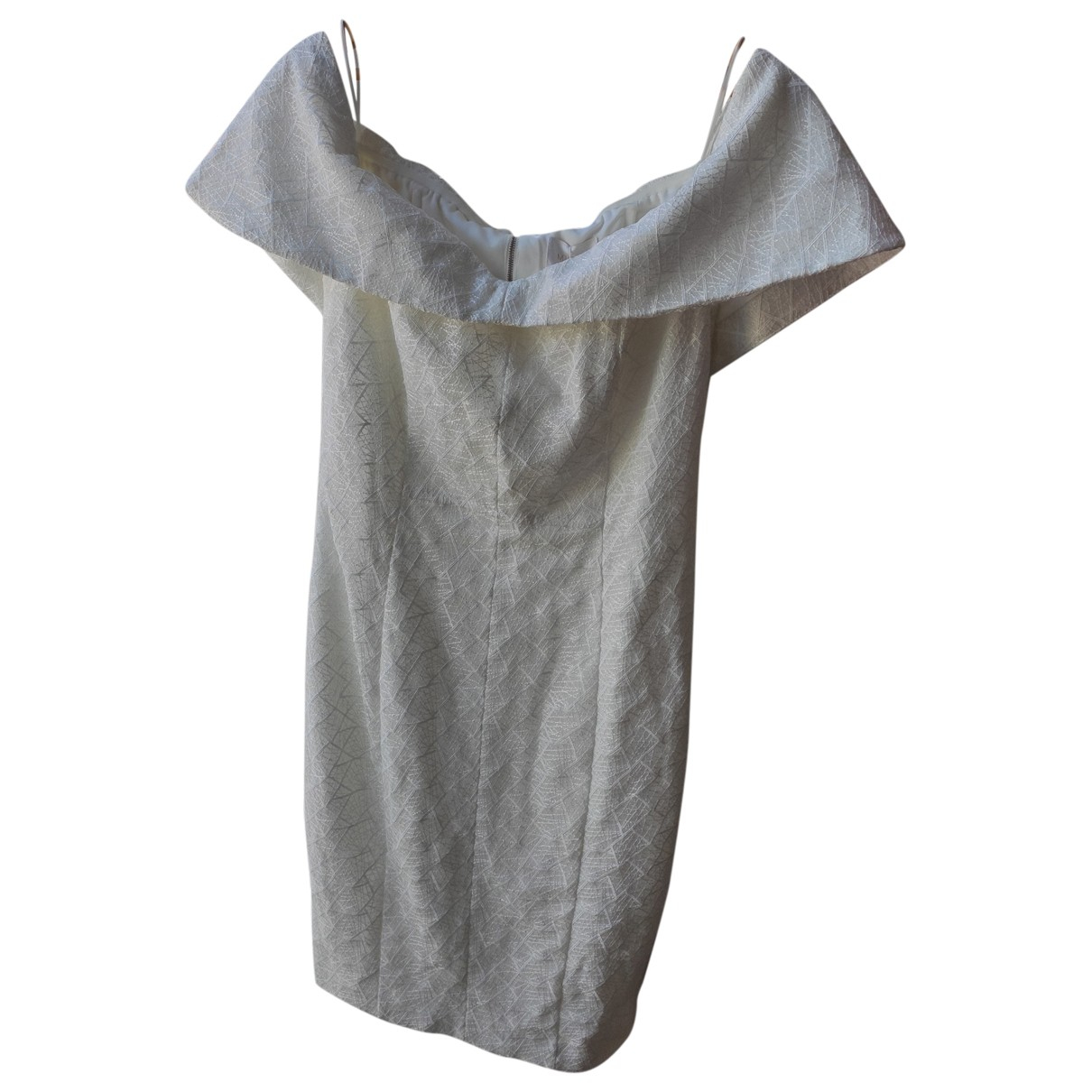 Misha Collection \N White dress for Women 42 FR