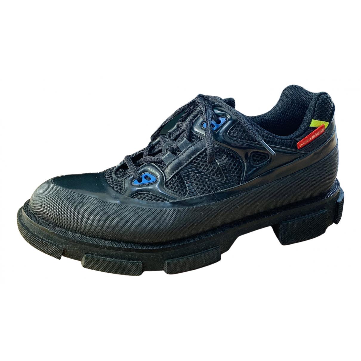 Both \N Sneakers in  Schwarz Kautschuk