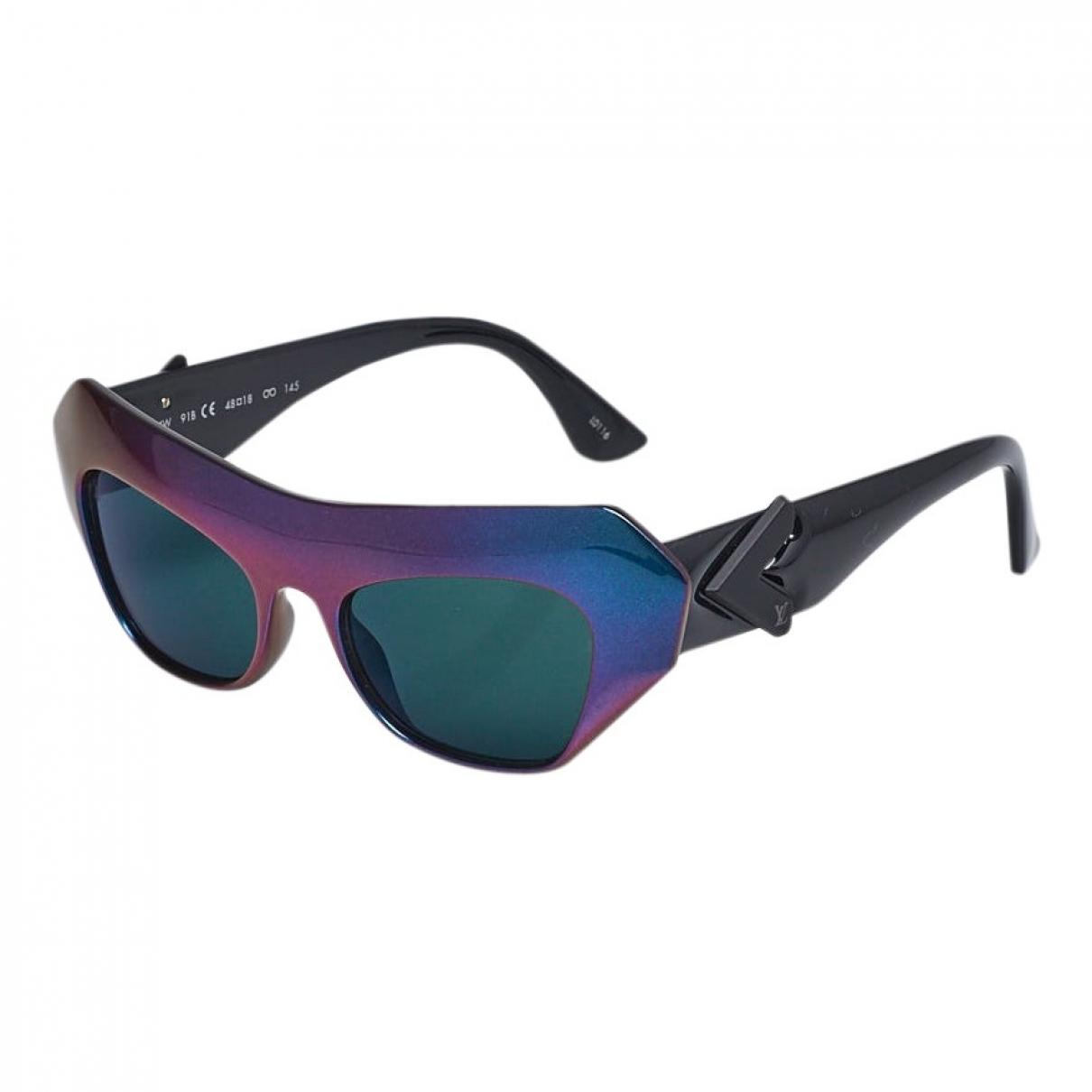 Louis Vuitton \N Sonnenbrillen in  Lila Kunststoff