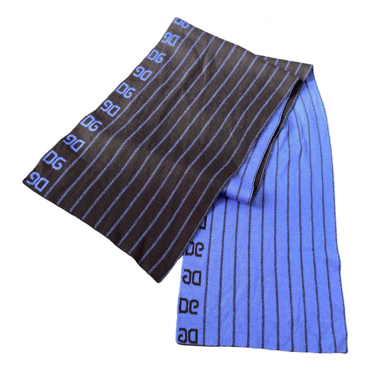 Dolce & Gabbana \N Brown Wool scarf for Women \N