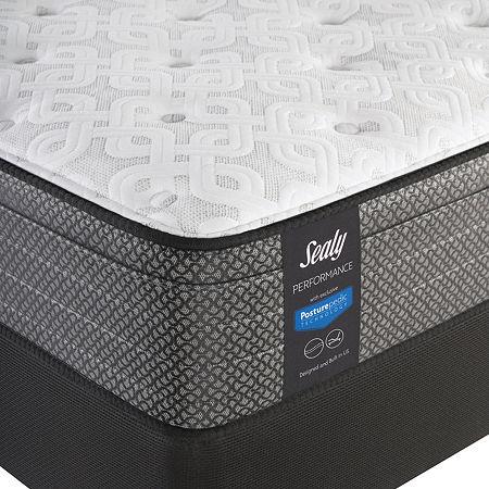 Sealy Besant Plush Eurotop - Mattress + Box Spring, One Size , White