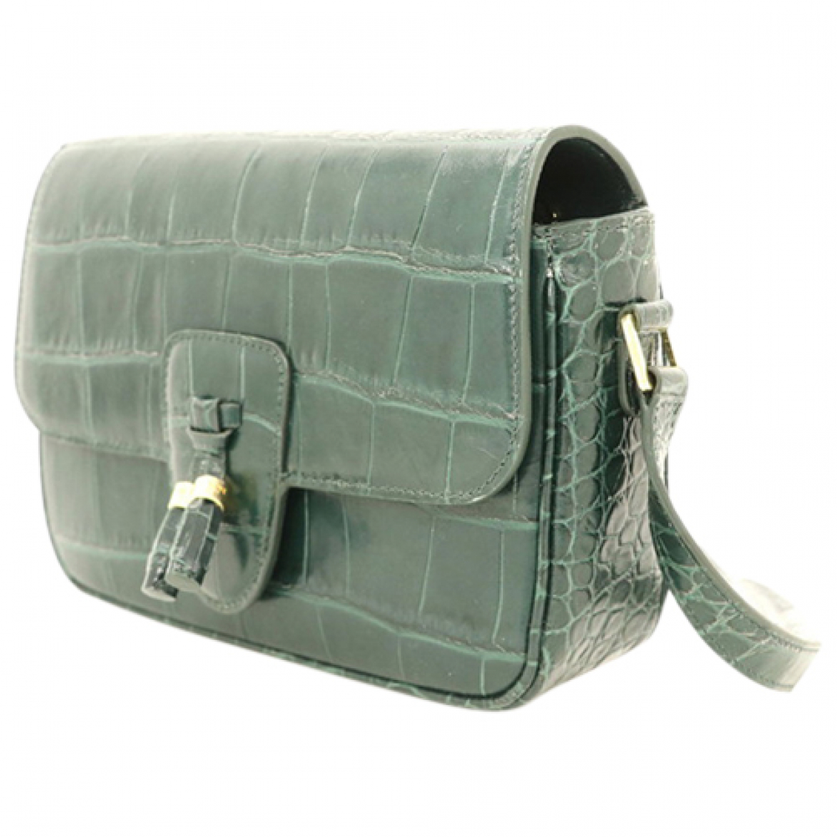 Celine N Green Leather handbag for Women N