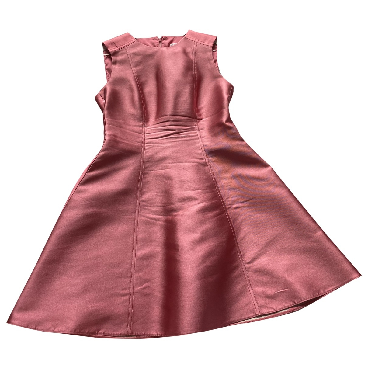 Red Valentino Garavani \N Pink Silk dress for Women 42 IT