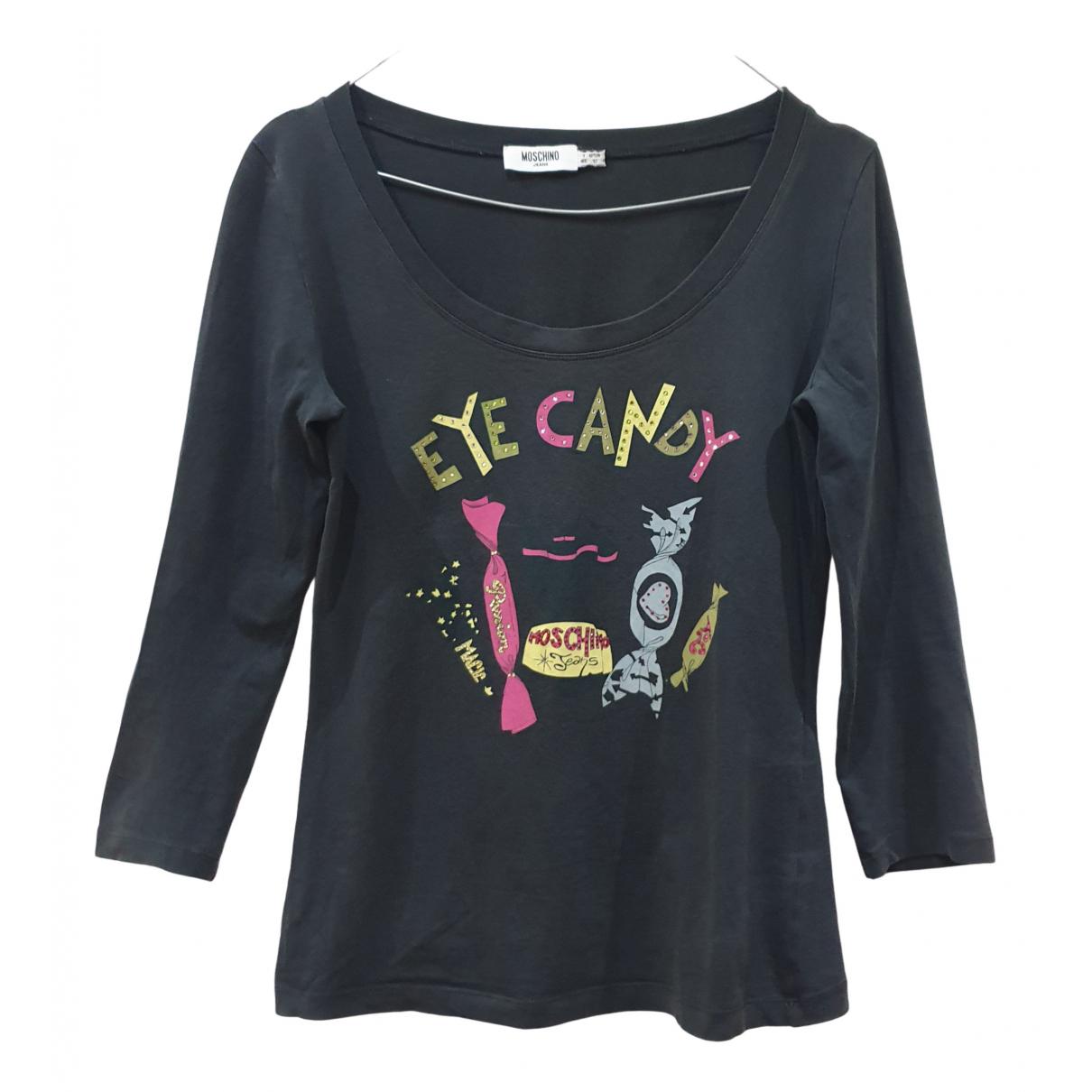 Moschino Cheap And Chic - Top   pour femme en coton - multicolore
