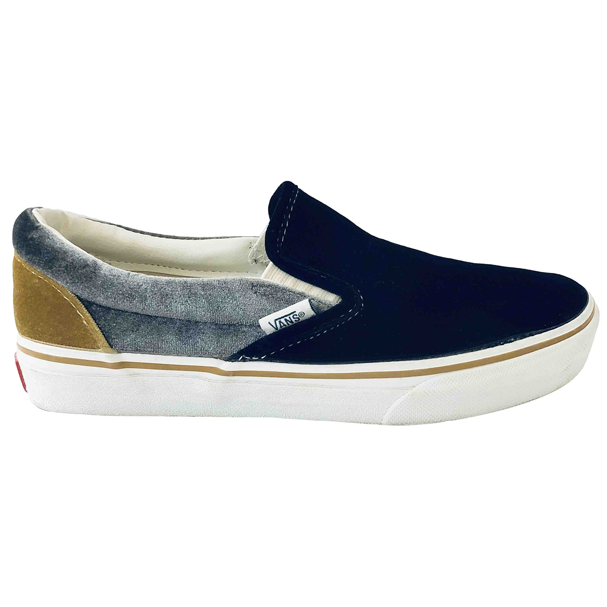 Vans \N Sneakers in  Bunt Samt