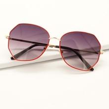 Gafas de sol de marco irregular