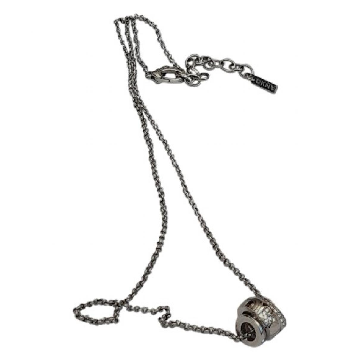 Dkny \N Kette in  Silber Stahl