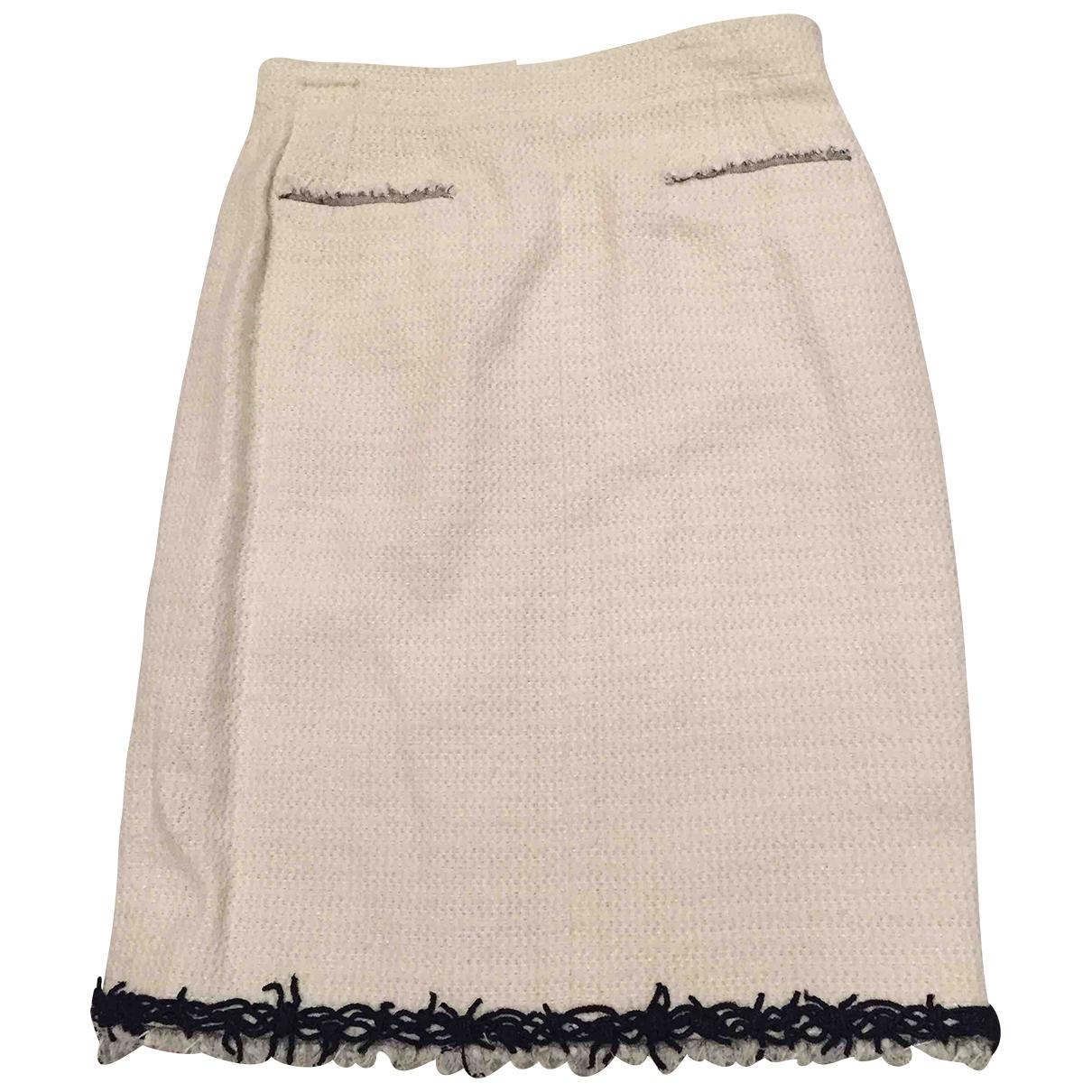 Chanel \N Beige Cotton skirt for Women 40 FR