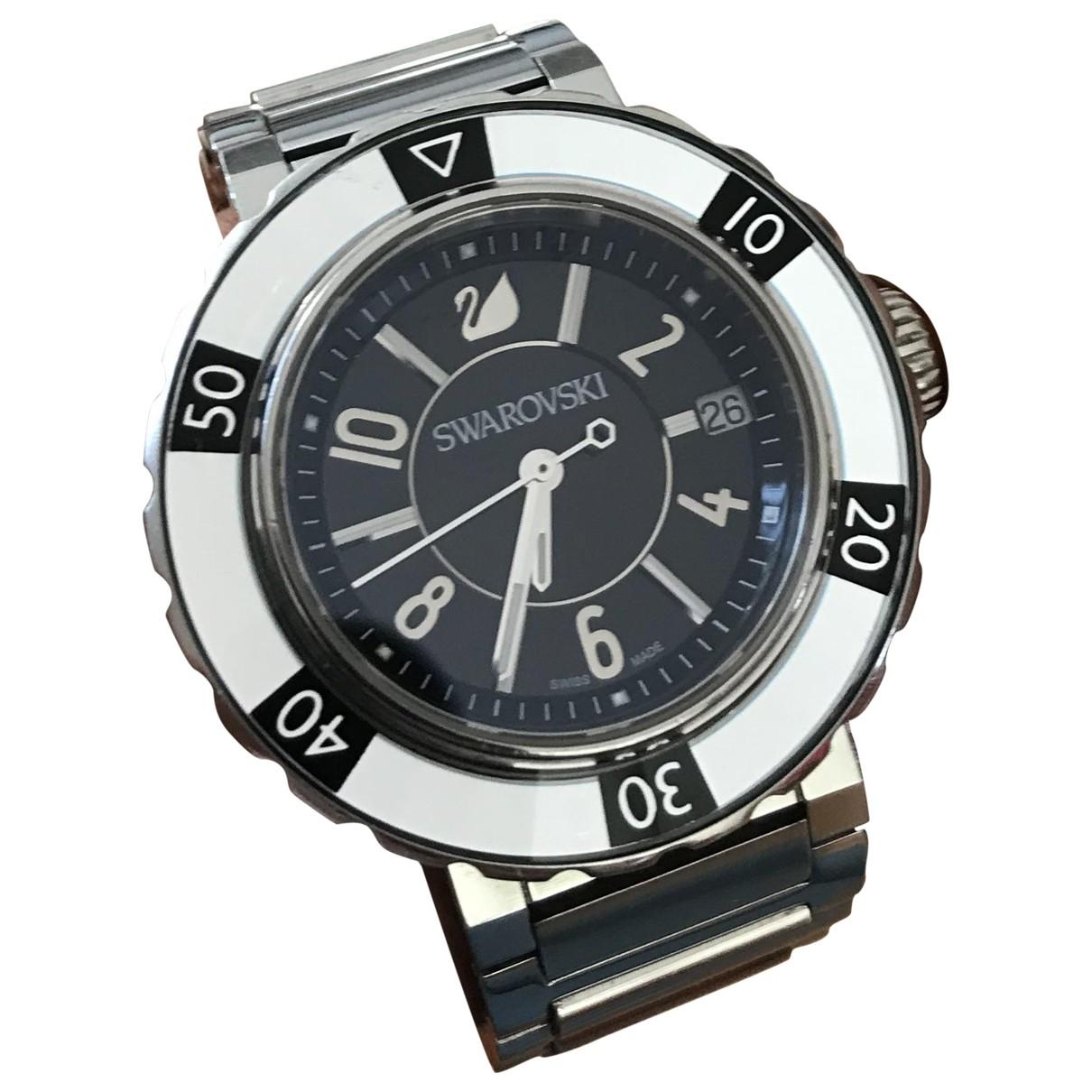 Swarovski \N Uhr in  Silber Stahl
