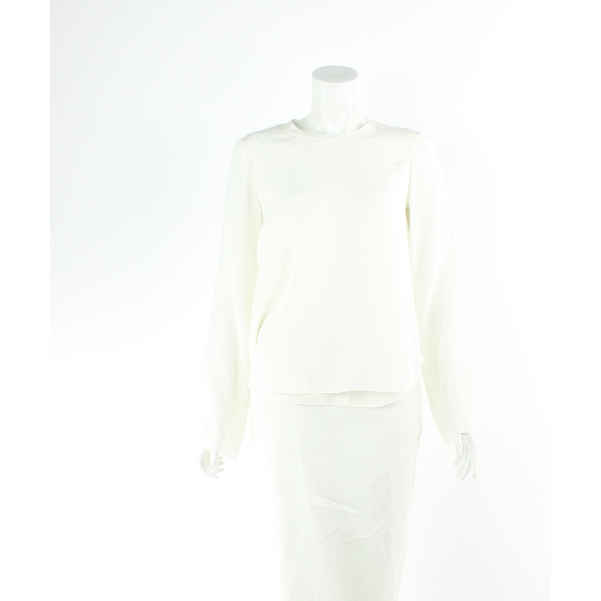 Chloé \N Ecru Silk  top for Women 6 UK