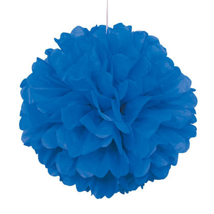 Solid Hanging Tissue Pom Pom Party Decorations 16