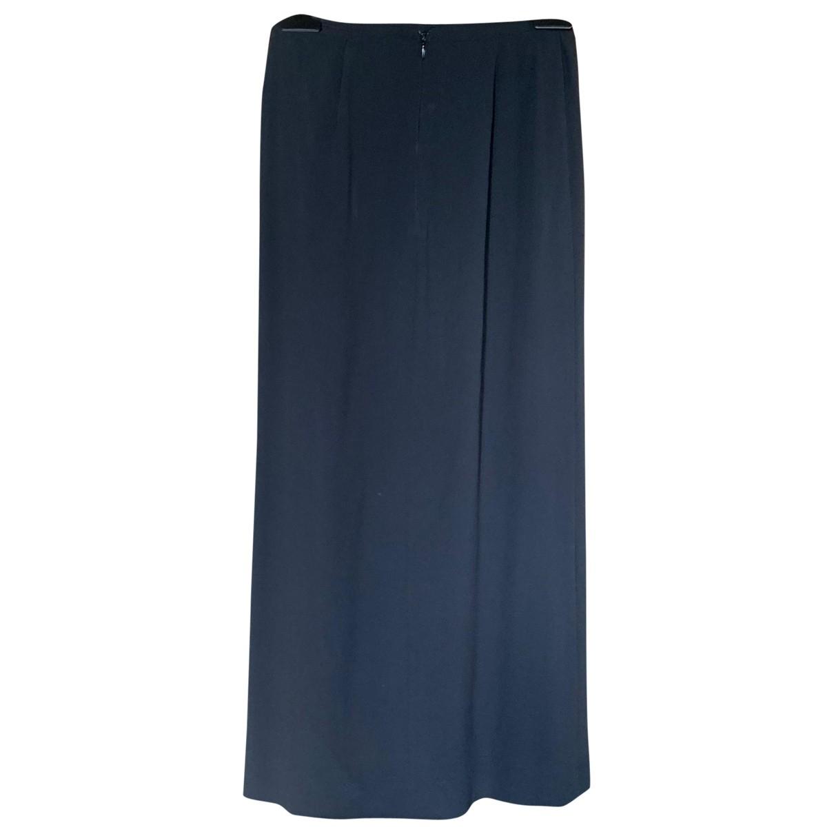 Miu Miu - Jupe   pour femme en soie - noir