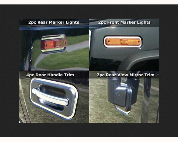 Quality Automotive Accessories 11-Piece Accent Trim Hummer H2 2009