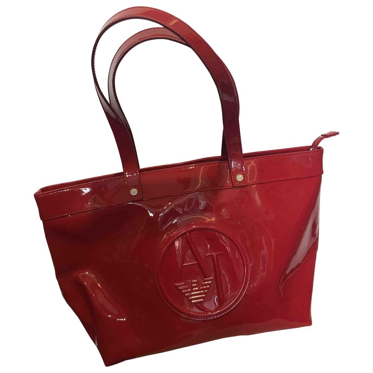 Armani Jeans \N Red handbag for Women \N