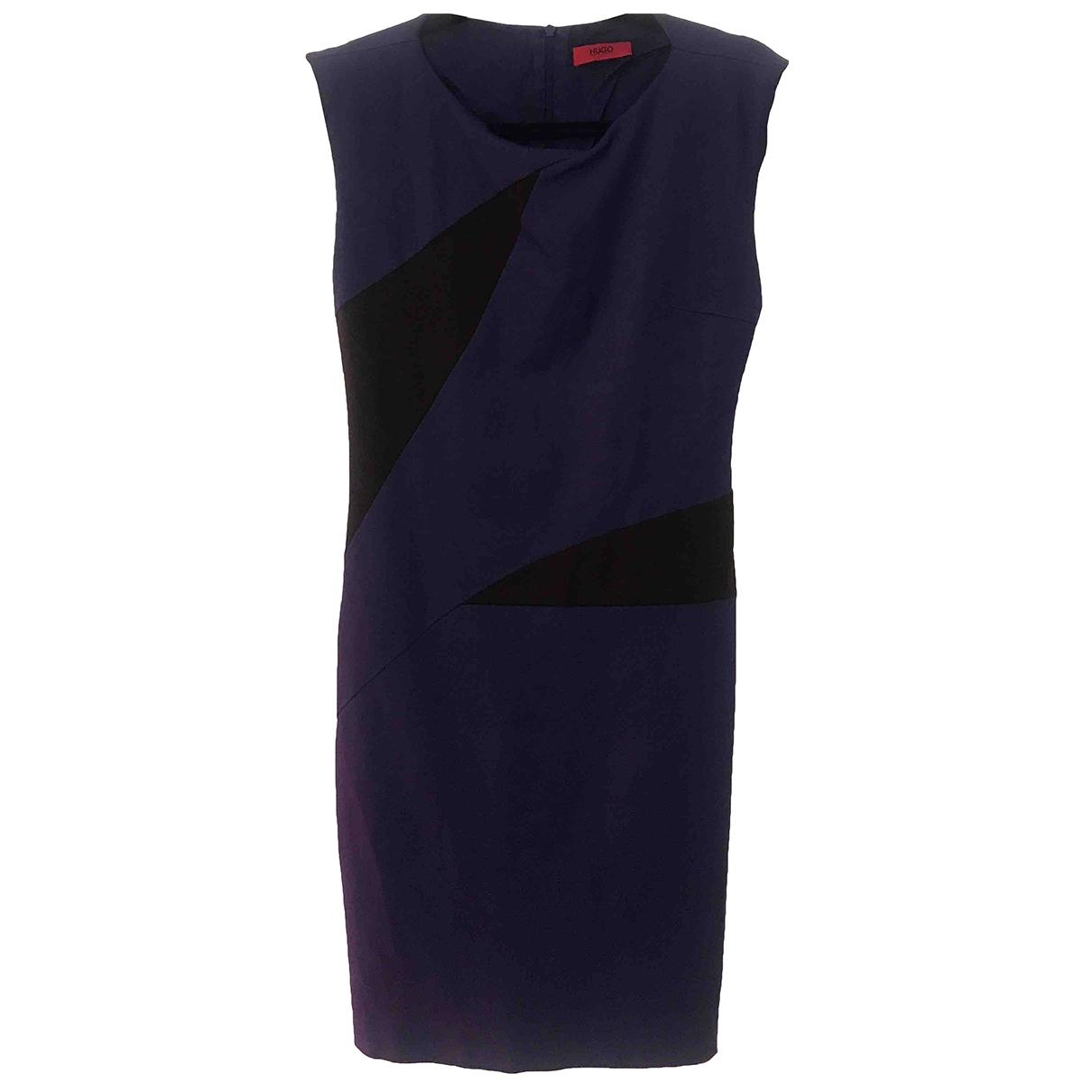 Hugo Boss \N Purple dress for Women 40 IT