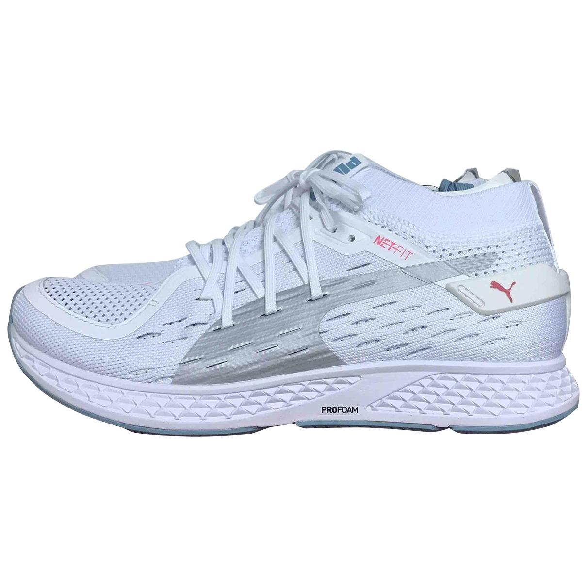 Puma - Baskets   pour femme - blanc