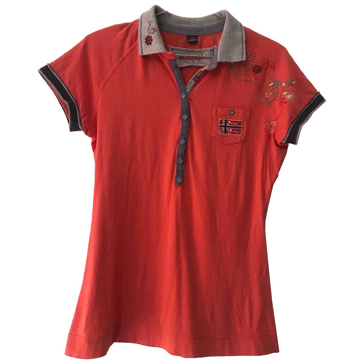 Napapijri \N Orange Cotton  top for Women S International