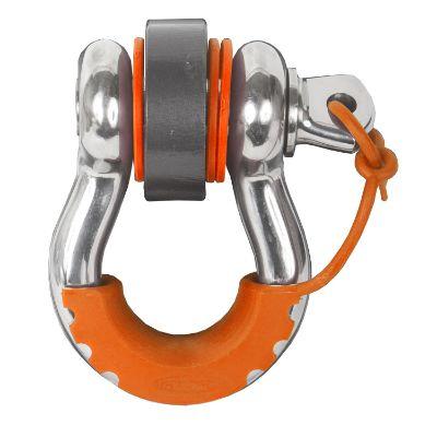 Daystar Locking D-Ring Isolator (Fluorescent Orange) - KU70058FA