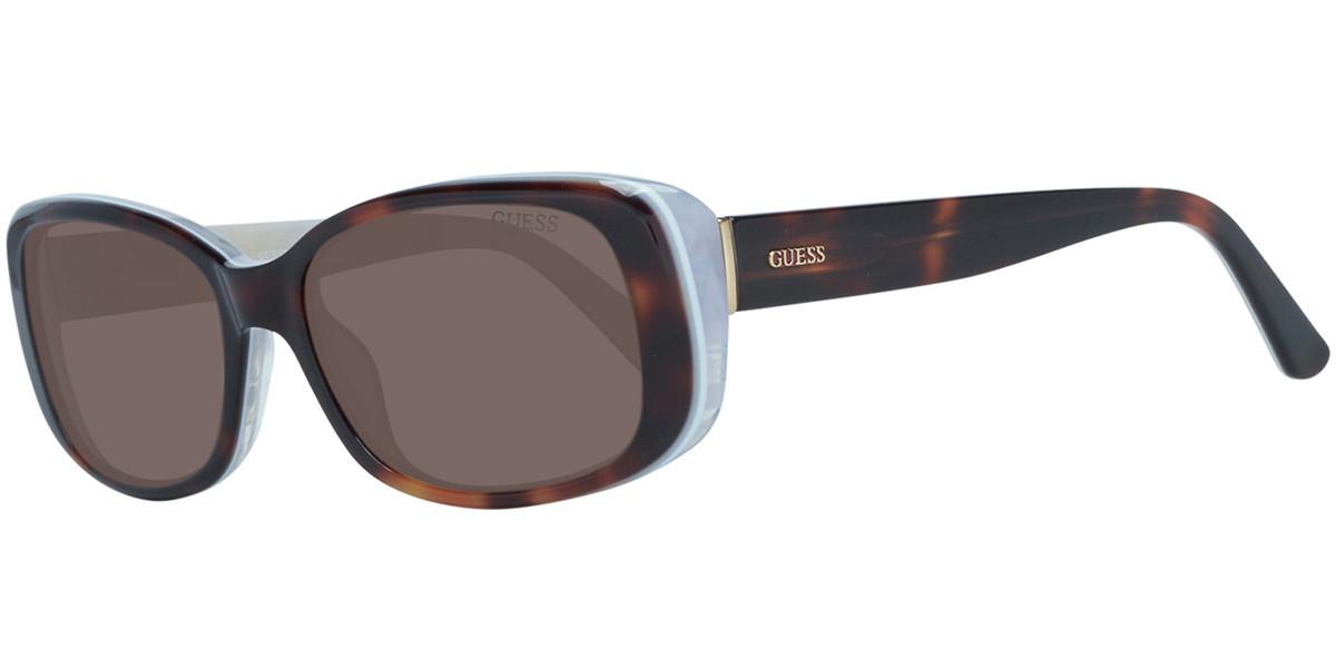 Guess GU 7408 52E Women's Sunglasses Tortoise Size 52
