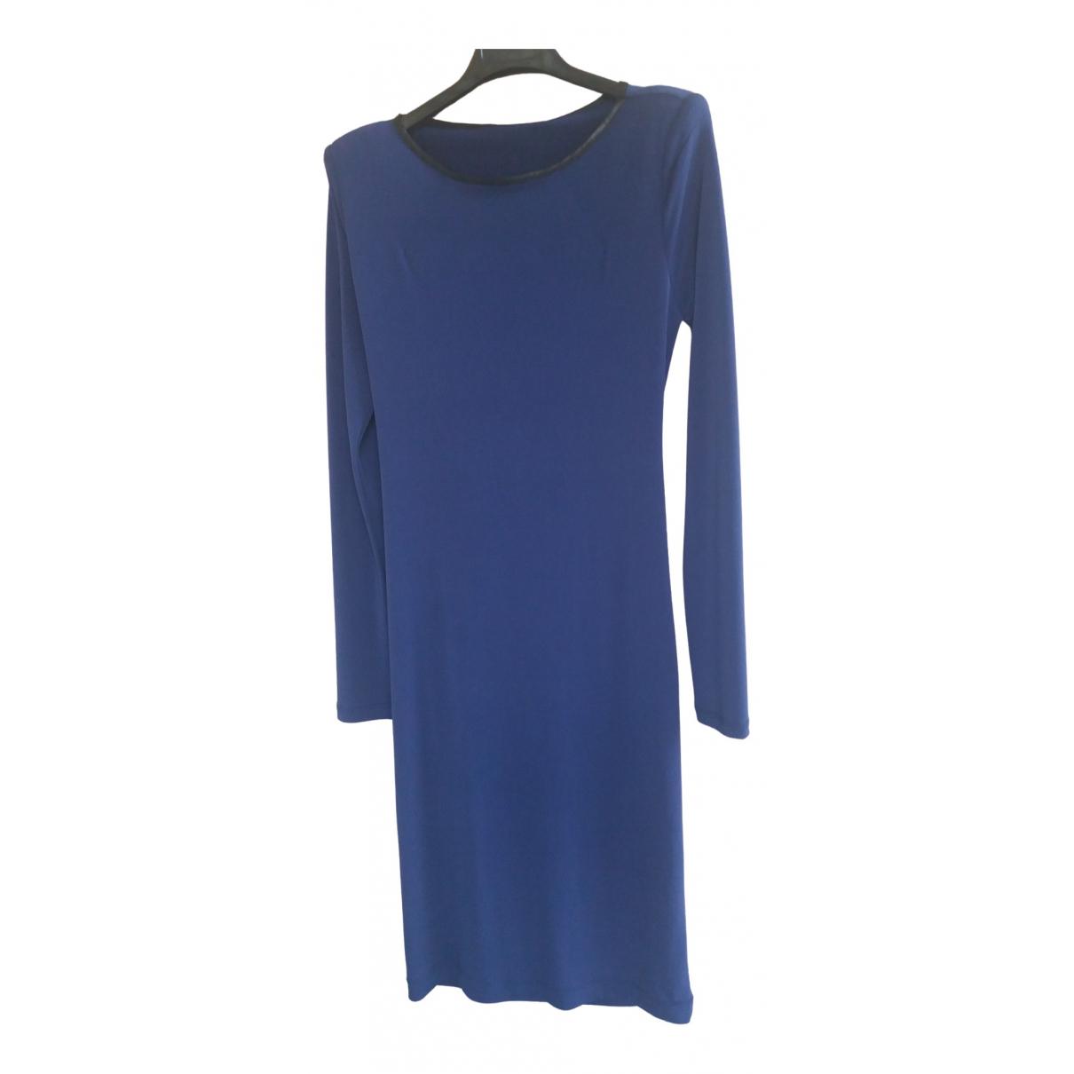 Imperial \N Kleid in  Blau Polyester