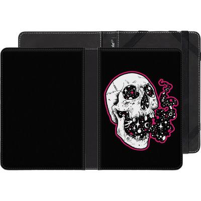 Sony Reader PRS-T1 eBook Reader Huelle - Space Skull Black von Kreatyves